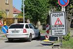 Wellnerova ulice v Olomouci, 12. května 2021