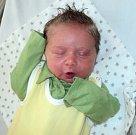 Kryštof Šuba, Litovel, narozen 3. dubna ve Šternberku, míra 52 cm, váha 3980 g