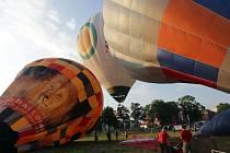 Balony se vznesou nad Prostějov. Ilustrační foto