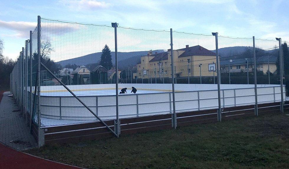 Kluziště v Hlubočkách, 9. prosince 2020