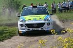 Posádka Michal Horák - Karel Zapletal na Rally Vyškov.