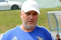 Asistent olomouckého trenéra Václava Jílka Jiří Saňák.