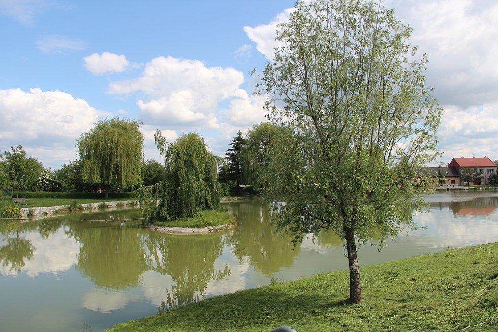 Rybník v Křelově