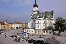 Rekonstrukce náměstí v Uničově