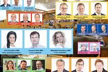 Nové olomoucké zastupitelstvo 2014. Ilustrační koláž