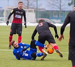Sigma Olomouc - SFC Opava 3:0. David Houska na zemi.
