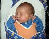 Matyáš Mihál, Břidličná, narozen 20. března, míra 51 cm, váha 3560 g