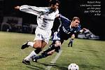 Olomoučtí fotbalisté remizovali v roce 1998 v Poháru UEFA doma s Olympiquem Marseille 2:2. Robert Pires