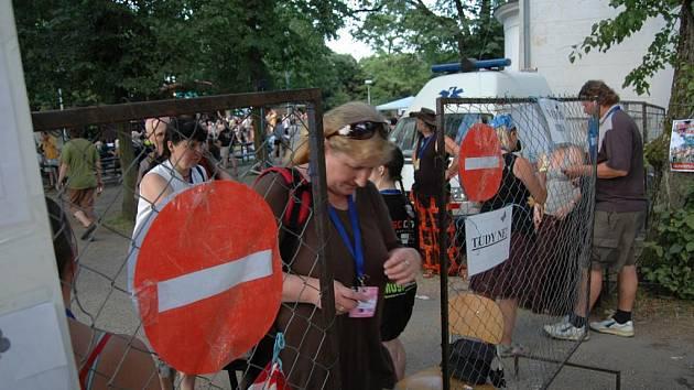 V Náměšti na Hané dnes pokračoval festival Zahrada.