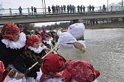 18. března 2018. Mrazivé vynášení zimy v Přerově