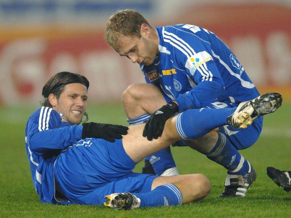 2007: Slavia - Sigma: Ošetřovaný Melinho.