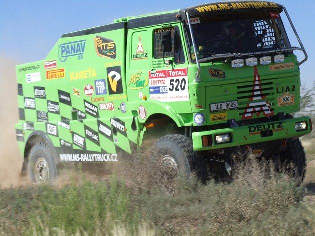 MS - Rallytruck team na Rallye Dakar