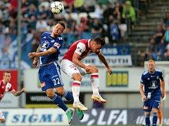 SK Sigma - Slavia Praha. Lukáš Kalvach , Stanislav Tecl