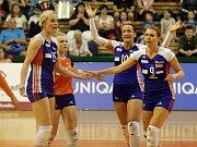 Olomoucké volejbalistky ve finálové sérii s Prostějovem
