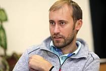 Radek Stojan, vedoucí oddělení cestovního ruchu Olomouckého kraje, při on-line rozhovoru se čtenáři DENÍKU