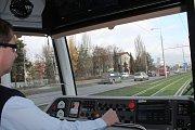 Slavnostní zahájení provozu na nové tramvajové trati mezi Šantovkou a Trnkovou ulicí v Olomouci