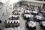 Extraligové volejbalistky a mládežnické týmy Olomouce a Šternberka se setkaly na společenském galavečeru