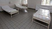 Prostory olomoucké záchytky ve Vojenské nemocnici
