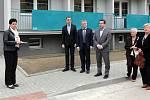 Otevření nového domu s pečovatelskou službou na Přichystalově 70 v Olomouci.