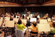 Moravská filharmonie nahrává v Redutě Mou vlast