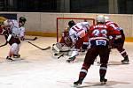 Hokejová Mora na domácím ledě porazila Havlíčkův Brod 3:1.