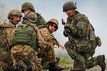 Cvičení vojsk NATO Ramstein Rover 2013 na Libavé
