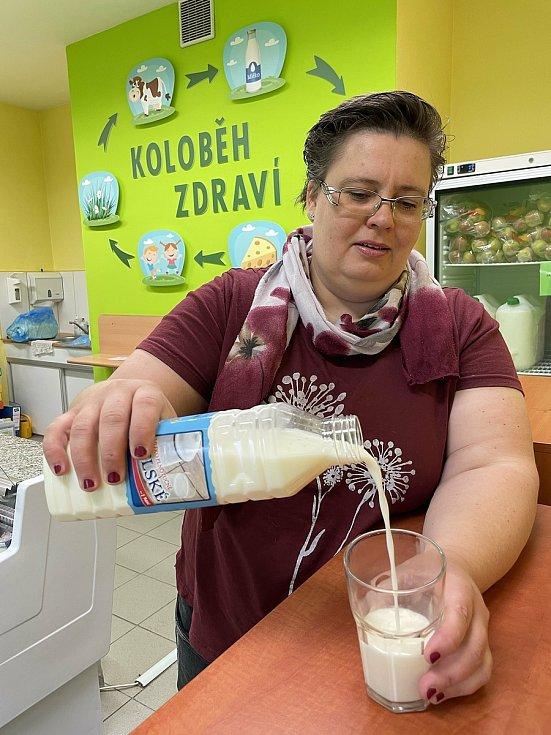 Mlékárna v Náměšti na Hané, červen 2021