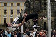 V Olomouci na Horním náměstí proběhl 12. ročník Hanácké laťkyJaroslav Bába
