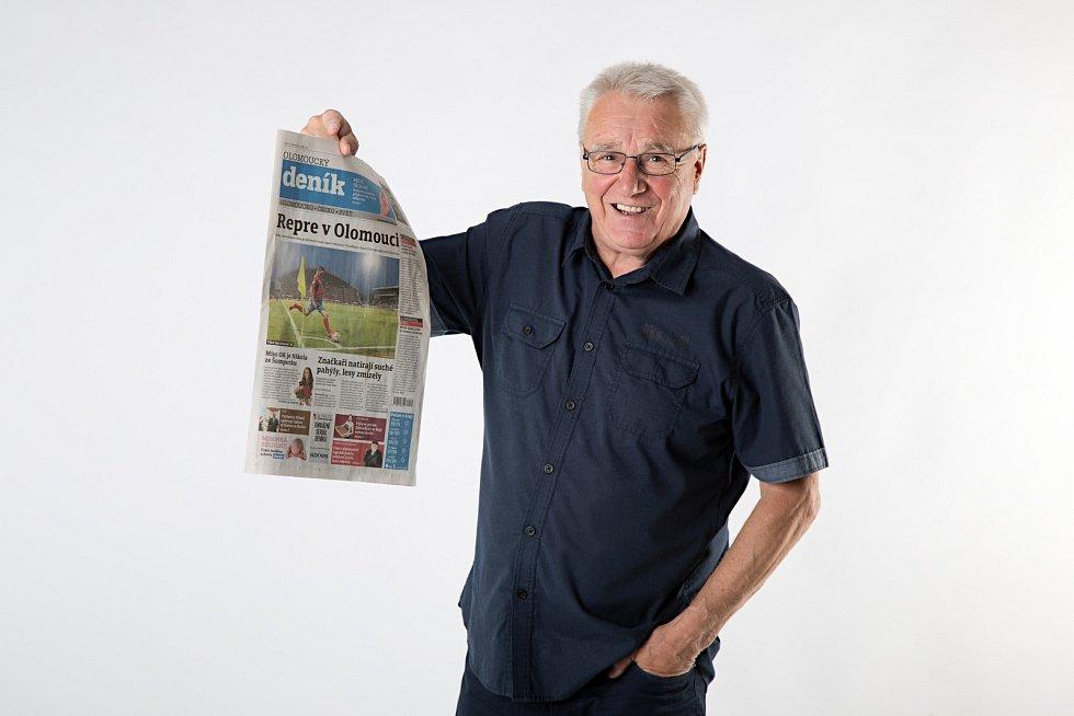 Petr Uličný, ambasador Olomouckého deníku