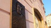 Pamětní deska na Horním náměstí v Olomouci připomíná pobyt polského krále Jana Sobieskeho v roce 1683, kdy jeho vojsko zásadně pomohlo odrazit útok Turků na Vídeň