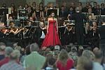 Open Air koncert Moravské filharmonie na Horním náměstí v Olomouci