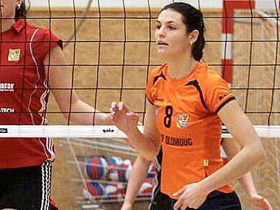 Martina Viestová v dresu Olomouce
