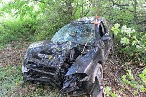 Nehoda mezi Zábřehem a Lesnicí v neděli 29. září.