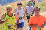 Atleti při Běhu na Svatý Hostýn