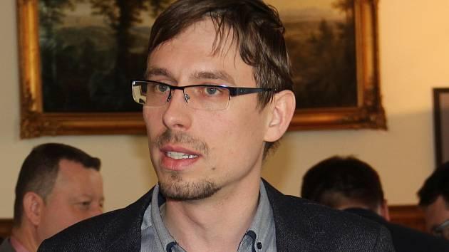 Náměstek olomouckého primátora Filip Žáček