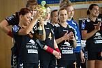 Házenkářky Zory prohrály s polským Lubinem a na turnaji obsadily třetí místo.