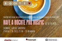 Mobilní hospic je možné podpořit nákupem kávy a moučníku v nákupní galerii Šantovka ve čtvrtek 7. října od 13 do 18 hodin před prodejnou H&M.