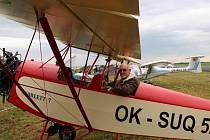 Radoslav Verner ze Šumperka vyrobil nový letecký motor a pak si k němu vyrobil také letadlo typu Racek.