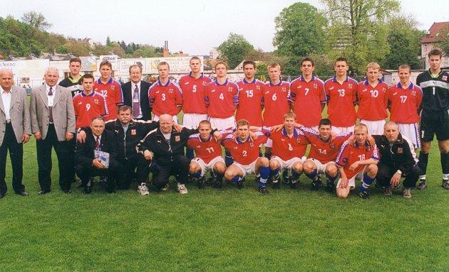 Mistrovství Evropy ve fotbale hráčů do 16let 1999.Český tým