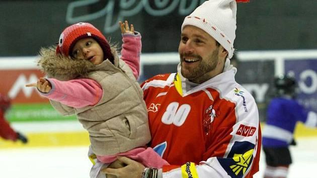 Martin Cibák. Mikulášský hokej v Olomouci