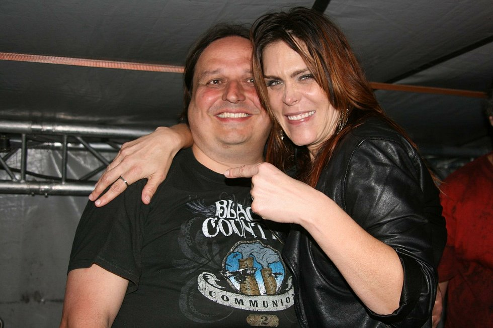 Dušan Neumann a americká zpěvačka Beth Hart