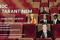 Kino Metropol 27. srpna 2021 nabídne Noc s Tarantinem.