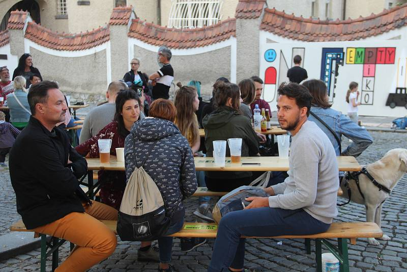 Festival Michalský výpad v centru Olomouce.
