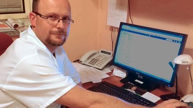 Primář Gynekologicko-porodnického oddělení Nemocnice Šternberk Marek Vaca.