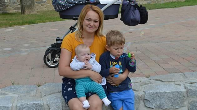 Monika Janíková z rodinného centra Klásek v Lutíně.
