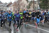 Zimní běh přes Kosíř