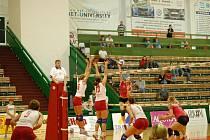 Olomoucké volejbalistky v extralize.