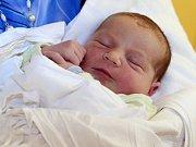 Daniel Kolář, Velká Bystřice, narozen 24. srpna v Olomouci, míra 54 cm, váha 4250 g