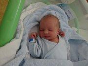 Lucas Kadlíček, Přerov, narozen 14. ledna, míra 48 cm, váha 3190 g