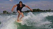 Wakeboarding a Wakeskate na pískovně v Nákle